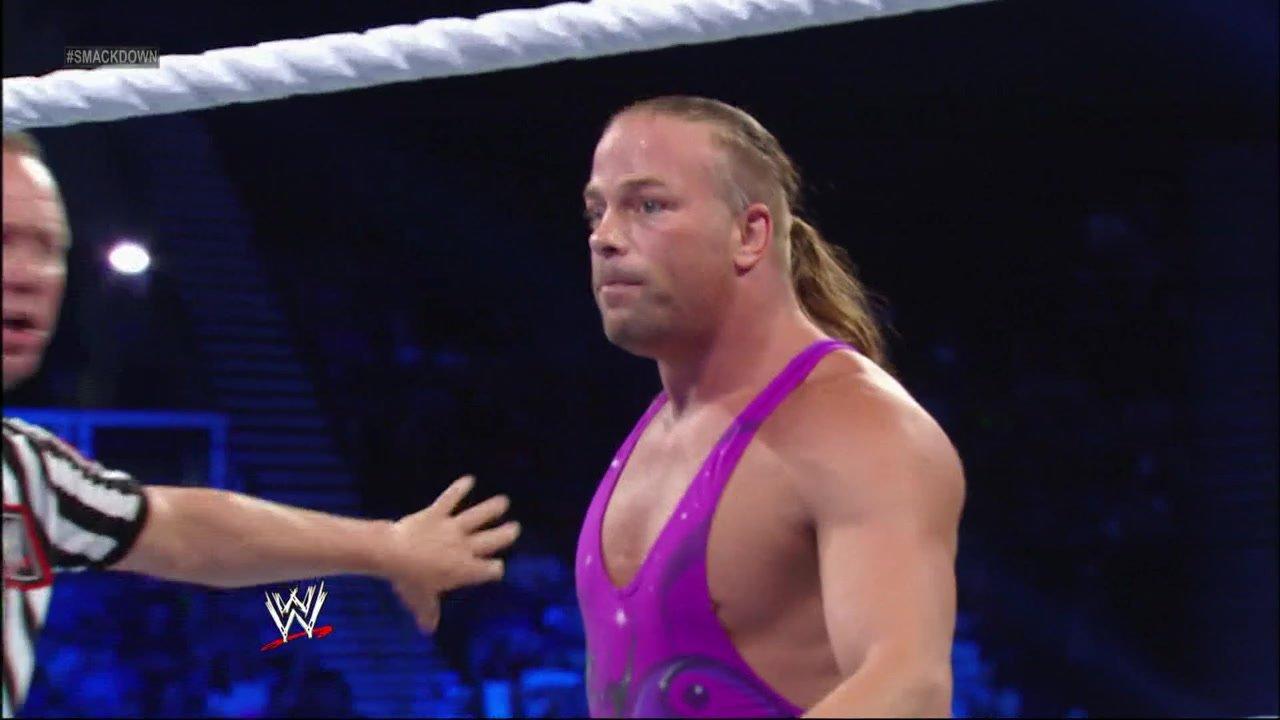 Rob Van Dam vs. Alberto Del Rio: SmackDown 26.07.13
