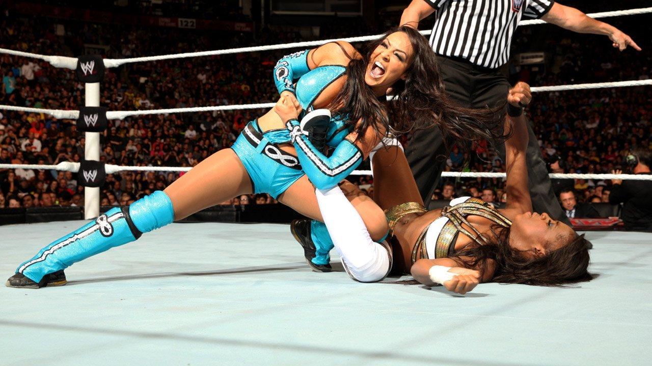Alicia Fox And Dean Ambrose Layla  amp Alicia Fox  amp Aksana