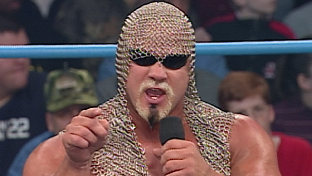 scott steiner shoots on steroids
