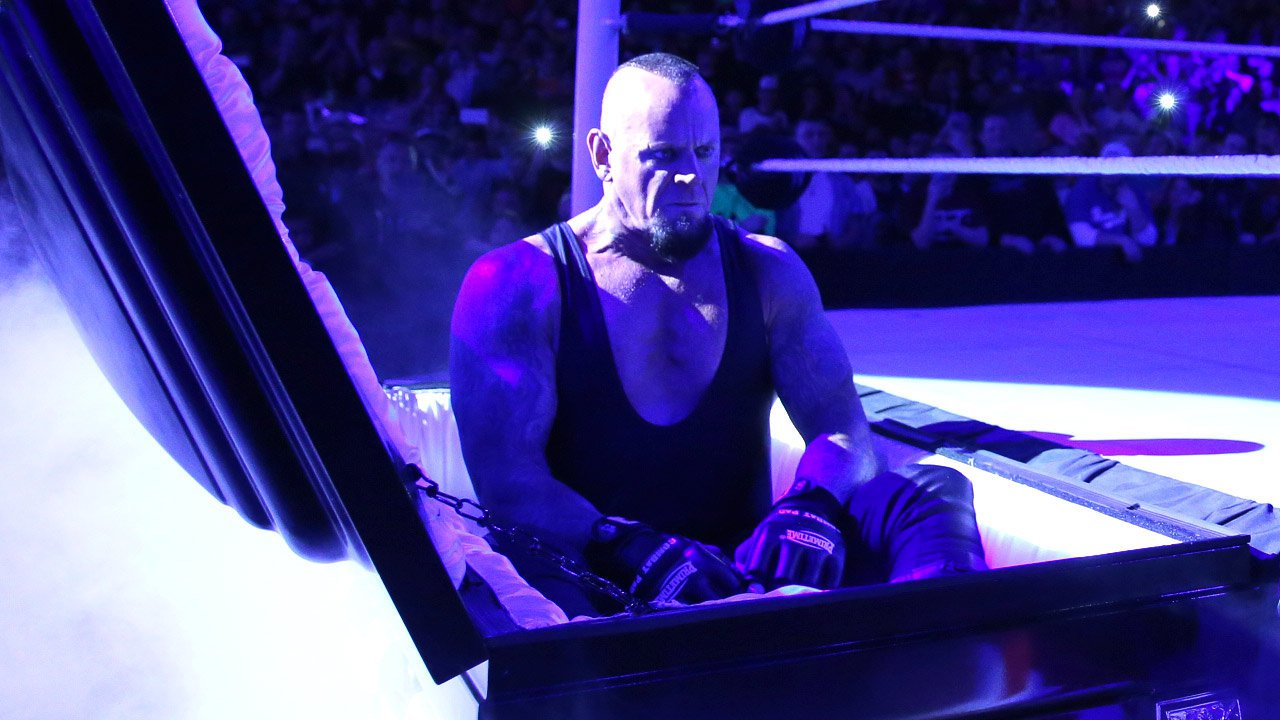 The Undertaker 2014 Raw results: The Under...