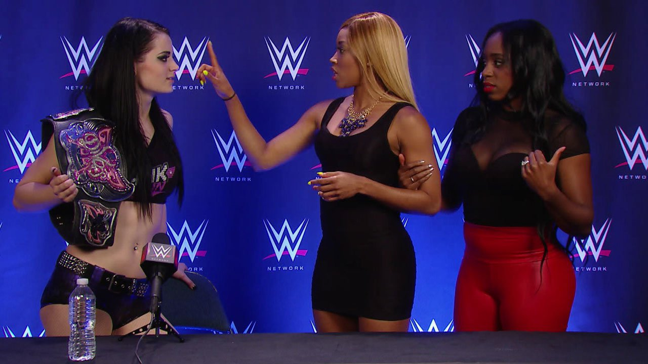Cameron interrupts Paige's WWE Payback press conference: WWE.com Exclusive, June 2, 2014