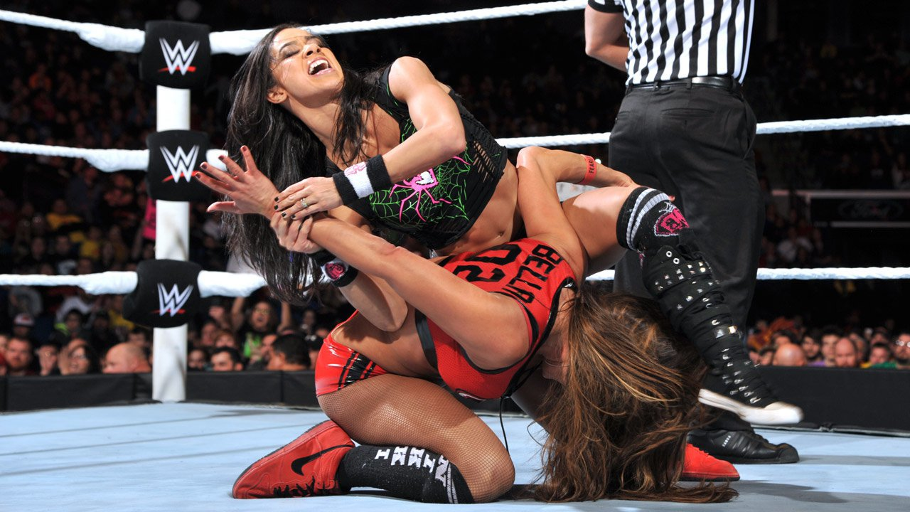 Wwe Aj Lee Sexiest Moments Aj lee & naomi def.