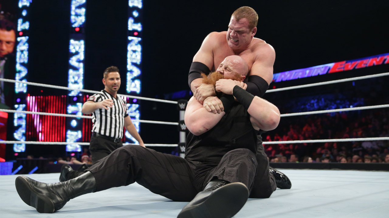 Erick Rowan vs. Kane: WWE Main Event, 16 décembre 2014