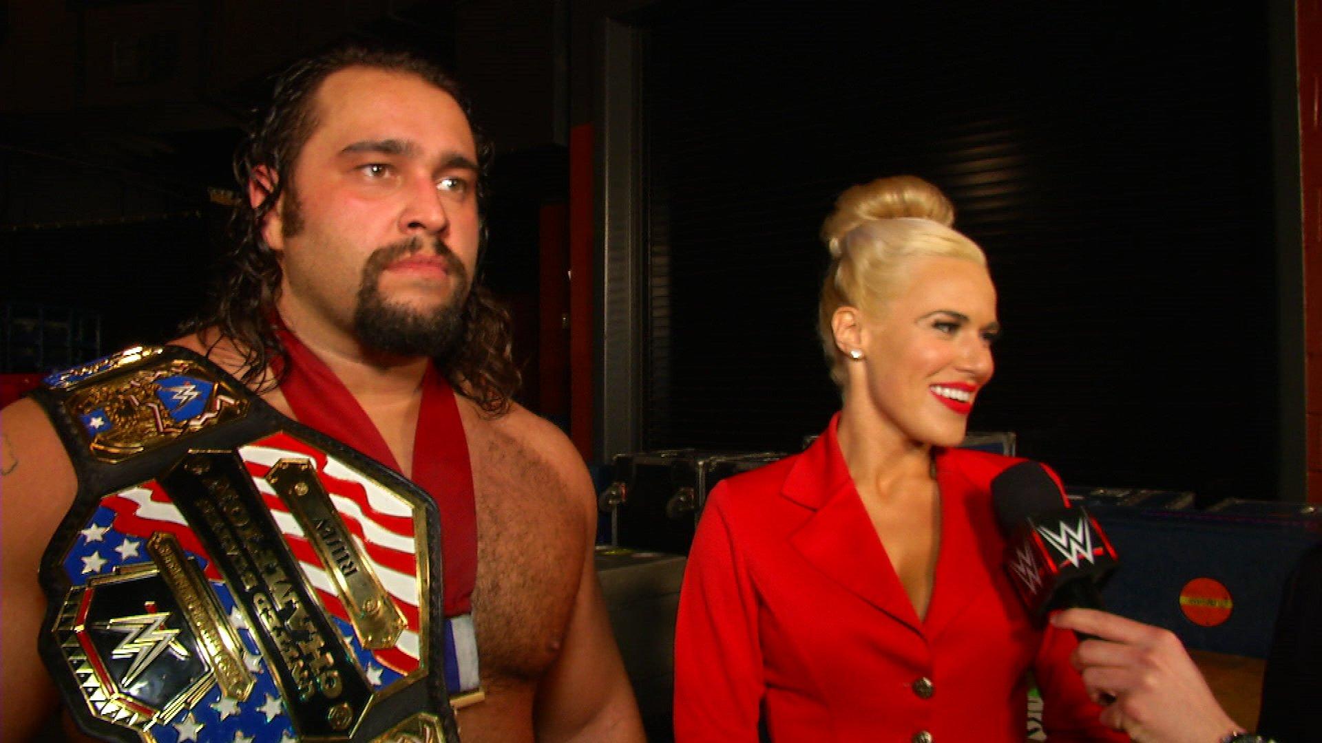 """Rusev i Lana komentują """"kontrowersyjne"""" zwycięstwo: WWE.com Exclusive 22.02.15"""