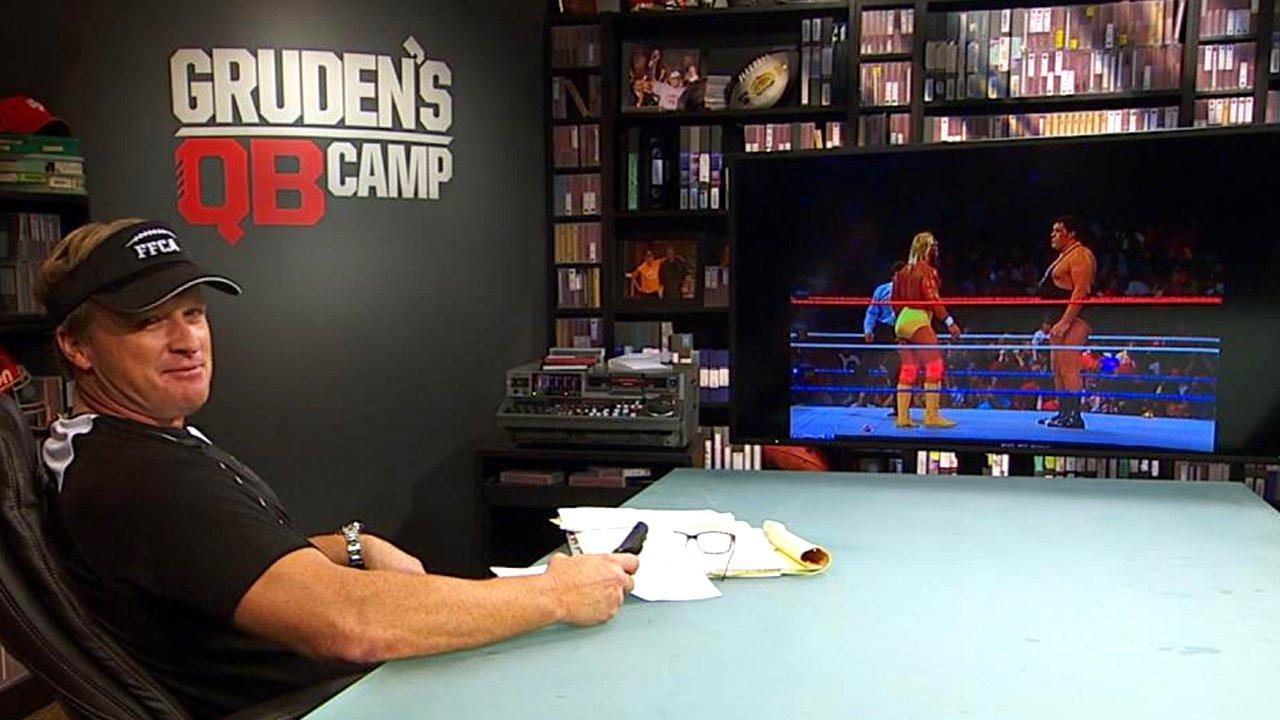 Jon Gruden, de la chaîne ESPN, donne ses pronostics pour la Bataille Royale d'Andre the Giant