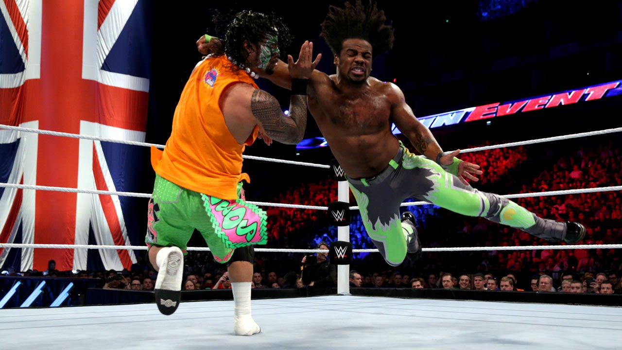 Jimmy Uso vs. Xavier Woods: WWE Main Event, 18 avril 2015