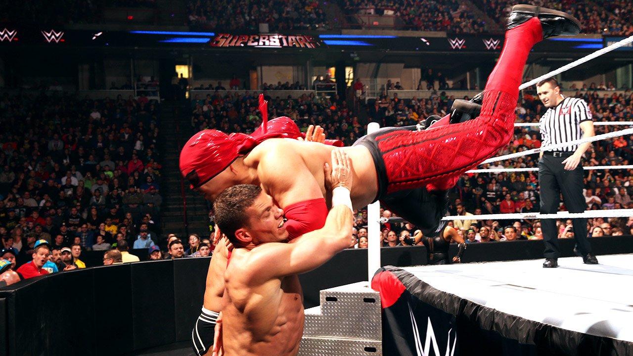 Cesaro & Tyson Kidd vs. Los Matadores: WWE Superstars,  24 avril 2015