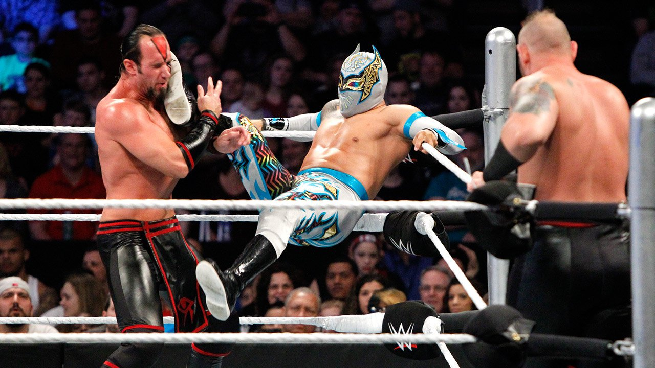 The Lucha Dragons vs. The Ascension: WWE Main Event 25.04.15