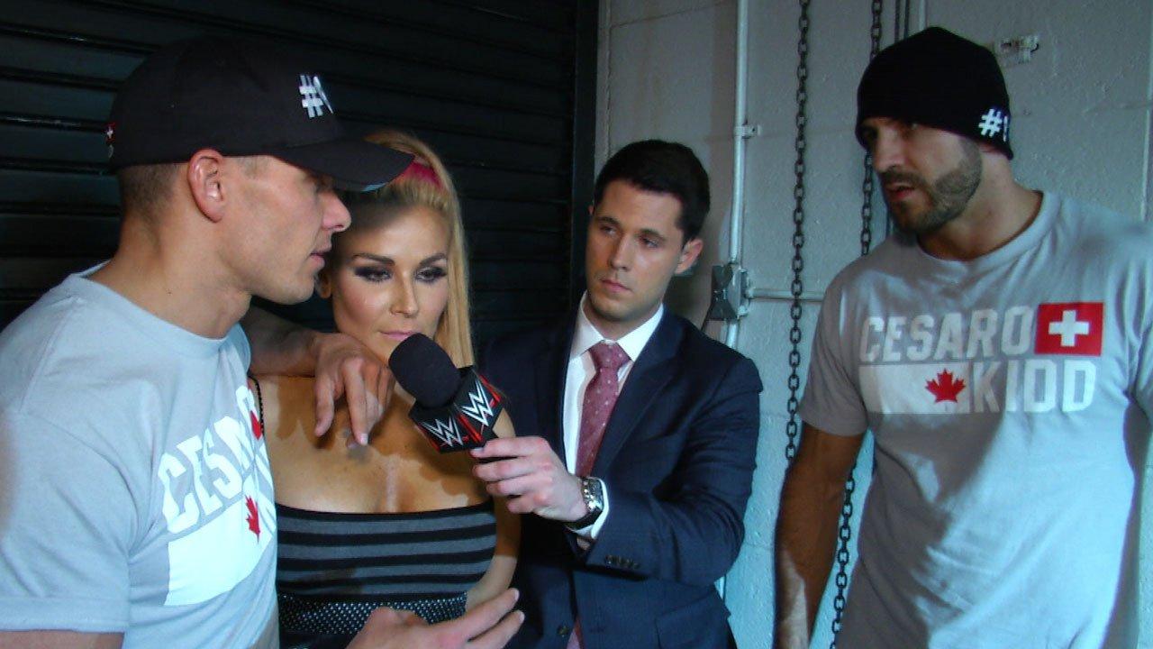 Cesaro & Tyson Kidd commentent leur dure défaite à WWE Payback: WWE.com Exclusive, 17 mai 2015