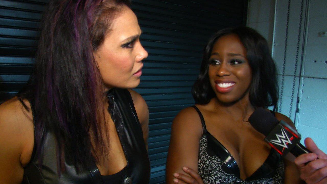 Naomi i Tamina komentują wygraną na WWE Payback: WWE.com Exclusive 17.05.15