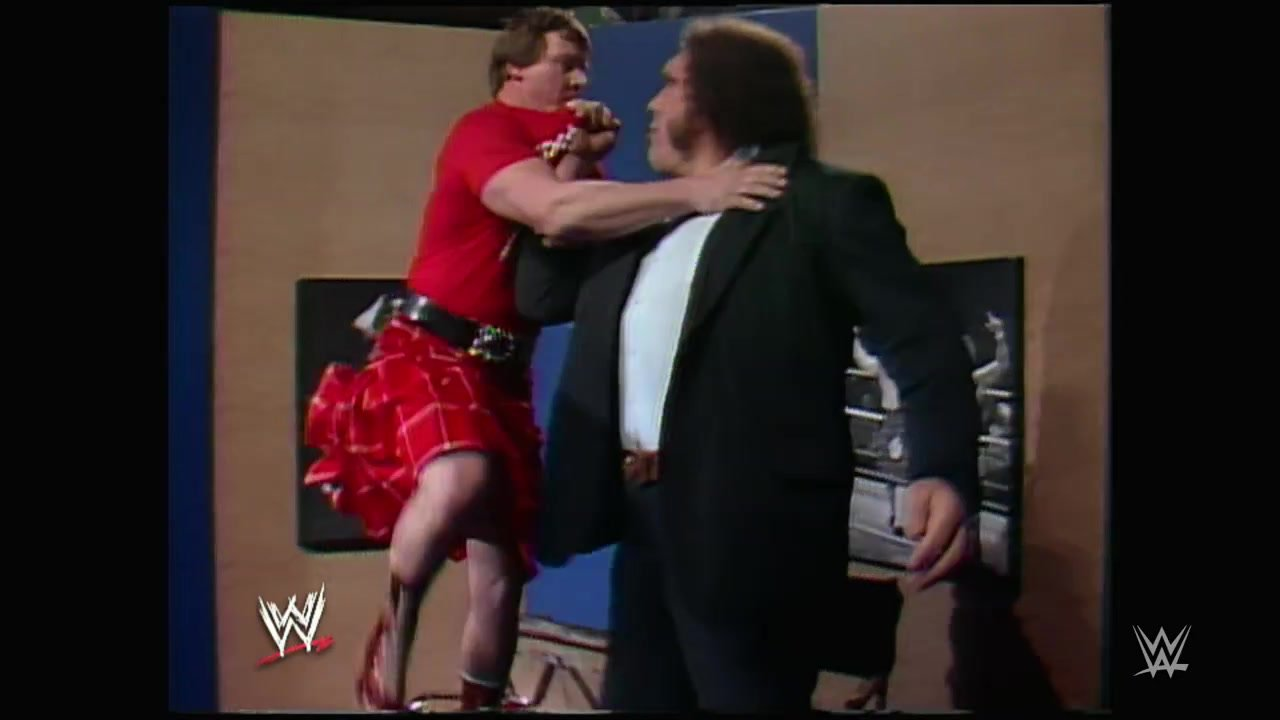 Piper's Pit avec Andre the Giant