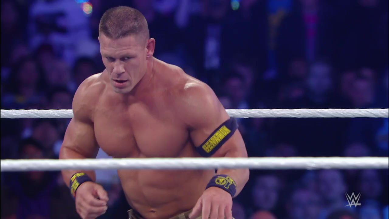 John Cena breaks out the Rock Bottom: WrestleMania 29, April 7, 2013