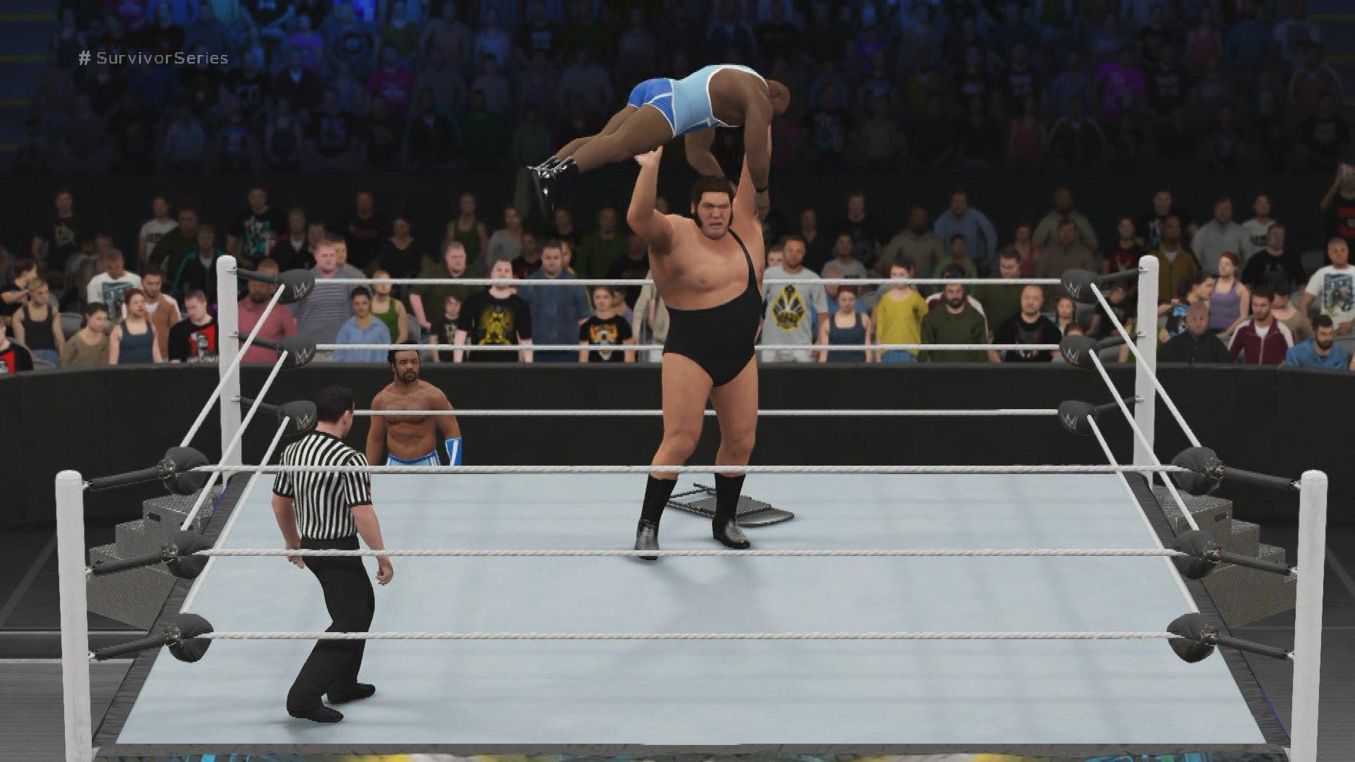 WWE 2K16 Fantasy Showdown: Big E vs. Andre the Giant