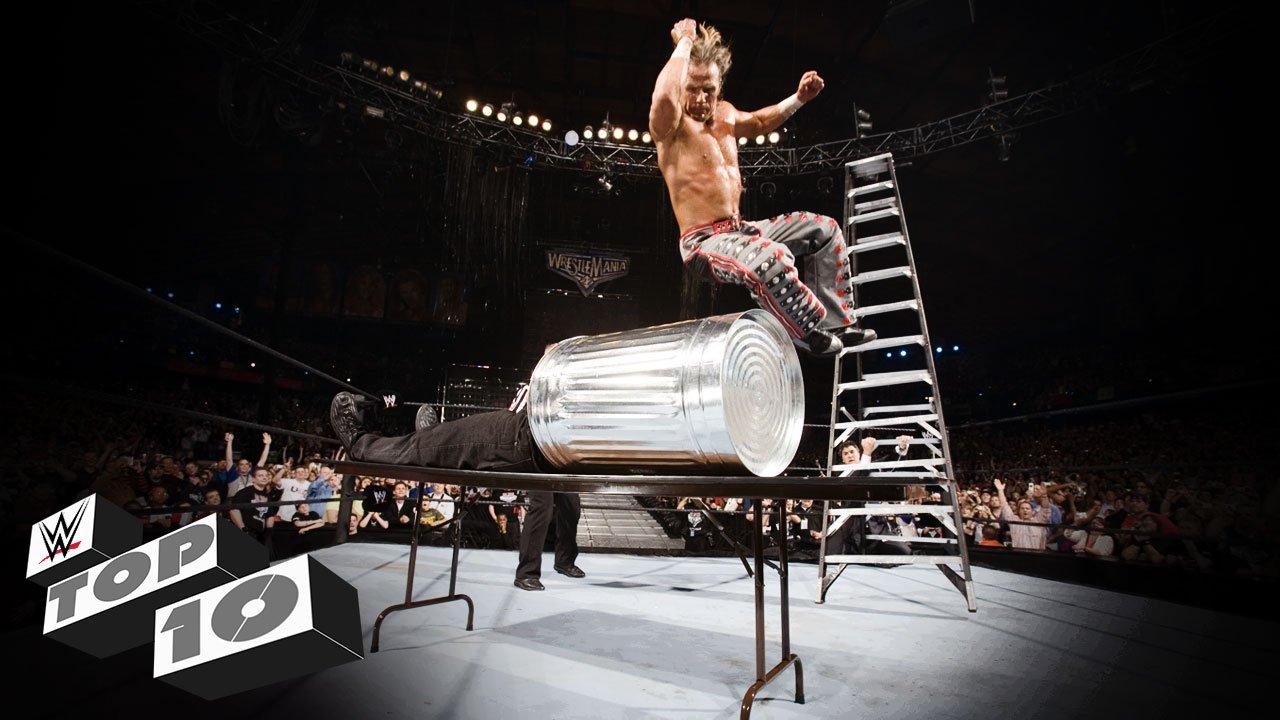 Plongeons déments d'échelles - WWE Top 10, 5 décembre 2015