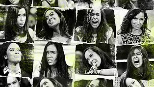 AJ Lee Woman of 1 000 Faces Aj Lee Clothes Line