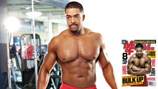 Covering  Muscle  amp Fitness  David Otunga Muscles