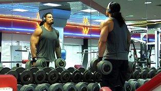 WCF Tag Team Champion - The Rock & ChristopherDaniels vs Roman Reigns & Ambrose Reigns%20Workout%20WIDGET%20IMAGE