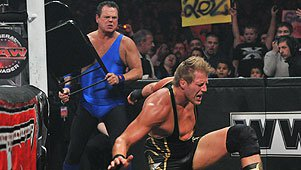 Jerry Lawler confronts Jack Swagger