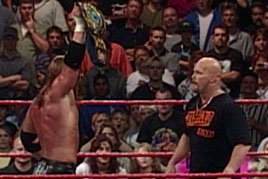 Triple H wins his second World Championship.