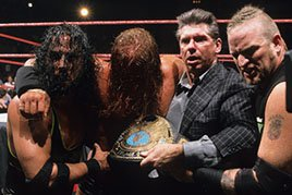 Triple H wins his fourth World Championship.