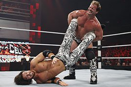 Chris Jericho in the ring