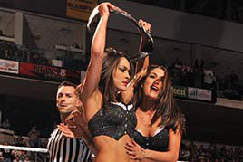 Brie Bella wins the Divas Title