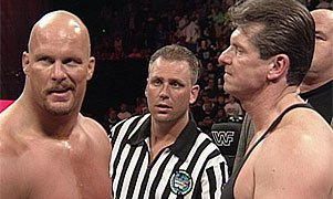 Stone Cold and Mr. McMahon