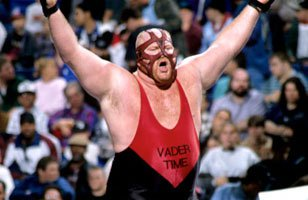 """The Man They Call Vader"" during his time in WWE."