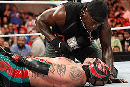 R-Truth and Rey Mysterio