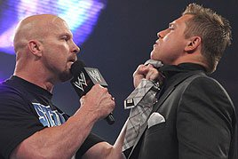 """Stone Cold"" Steve Austin and Miz"