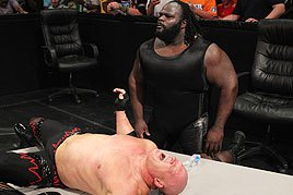 Mark Henry and Kane