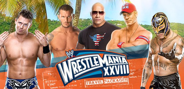 WrestleMania XXVIII Travel Packages