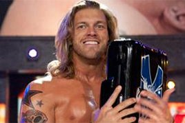 Edge with the Money in the Bank briefcase
