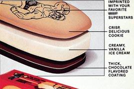 WWE ice cream bar details