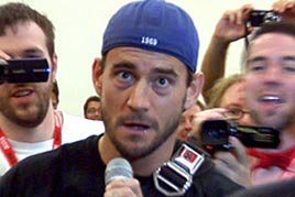 CM Punk crashes San Diego Comic-Con 2011