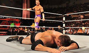 Zack Ryder and Michael Cole