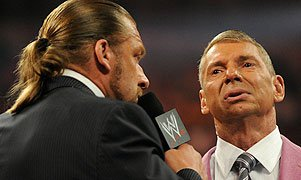 Triple H and Mr. McMahon