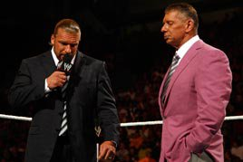 Triple H addresses Mr. McMahon on Raw