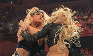 Beth Phoenix and Kelly Kelly