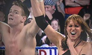 Zach Gowen and Stephanie McMahon