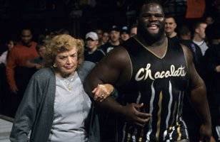 Mark Henry during his relationship with Mae Young.