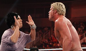 Vickie Guerrero and Dolph Ziggler