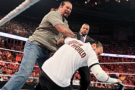 Nash takes down CM Punk