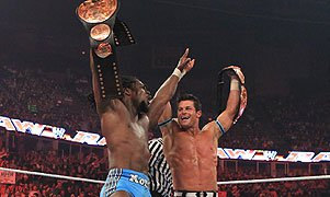 kofi Kingston and Evan Bourne