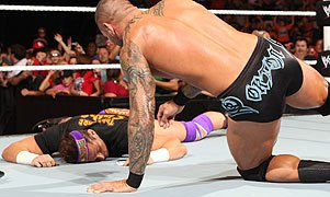Zack Ryder and Randy Orton