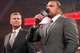 Triple h & John Laurinaitis
