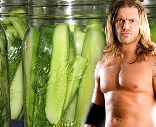 Edge's Pickle Spears! Spears! Spears!
