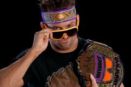 Zack Ryder with the Internet Title