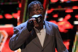 "R-Truth states ""ninja, please"""