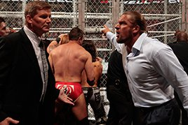 John Laurinaitis and Triple H